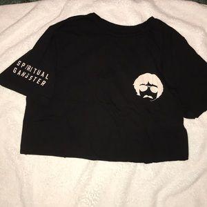 Men's spiritual Gangster tshirt